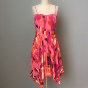 Citrus Geometric Sundress